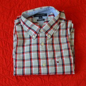 Tommy Hilfiger Long Sleeve Plaid Shirt (NEW)